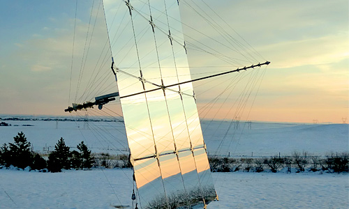 Suspension Heliostat Solar