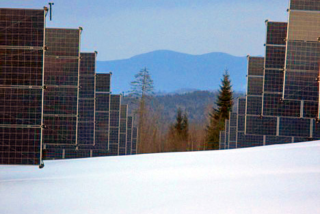 Solar Energy in the Snow