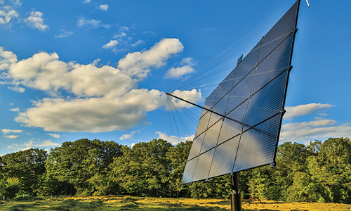 Solar tracker, Orford NH