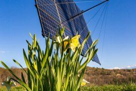 Solar tracker in Norwich, VT