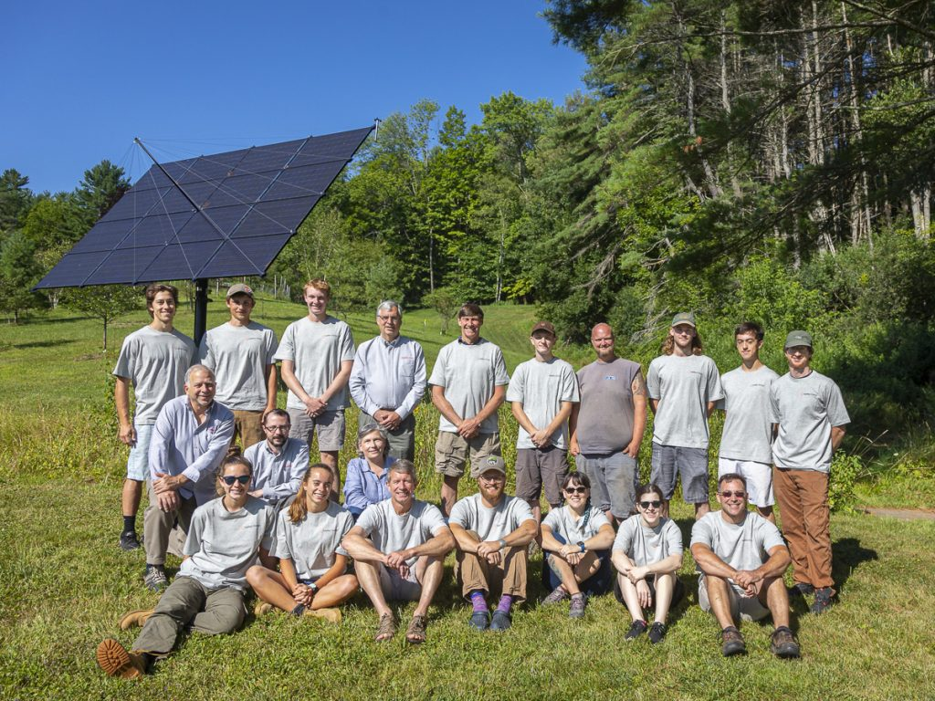 You could do an internship with this team of dedicated solar professionals