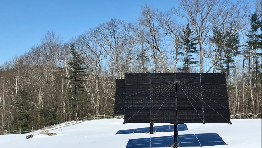 Solar Tracker, Lyme, NH